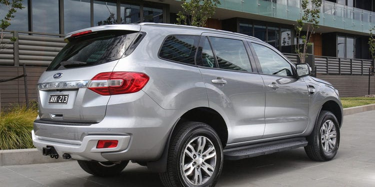 2017 Ford Everest Exterior