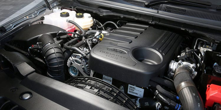 2017 Ford Everest Engine