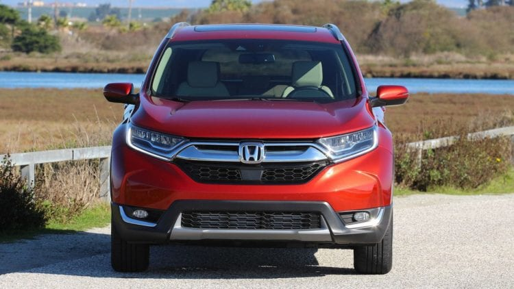 2017 Honda CR-V front view
