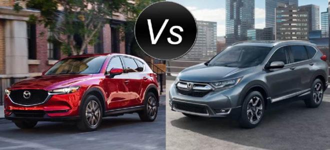 2017 Honda CR-V vs 2017 Mazda CX-5