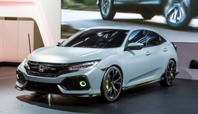 2017 honda civic type r making its way specs price. Black Bedroom Furniture Sets. Home Design Ideas