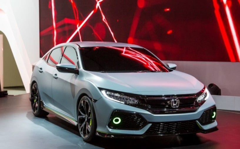 2017 honda civic type r making its way specs price release date. Black Bedroom Furniture Sets. Home Design Ideas