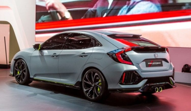 2017 Honda Civic Type R - Making its way