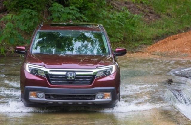 Simple 2017 Honda Ridgeline Offroad