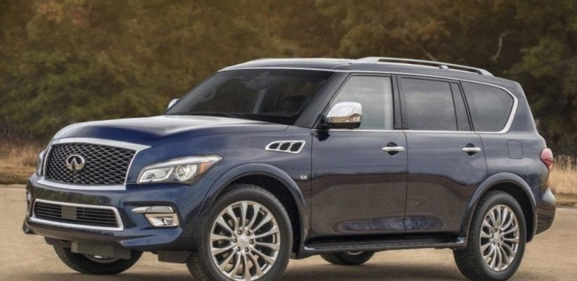 2017 Infiniti Qx80 Move Out My Way
