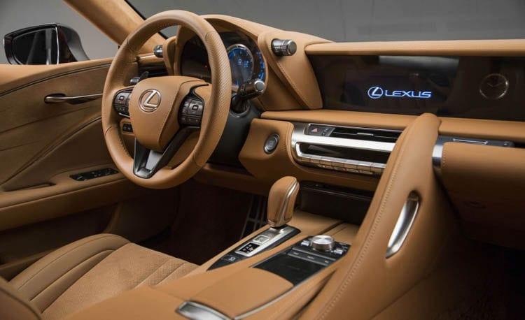 2017 Lexus LC500 Interior
