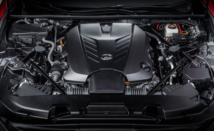 2017 Lexus LC500 Engine