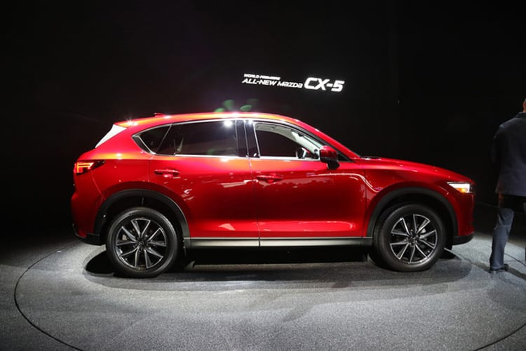 2017 Mazda CX-5 Release date, Changes, Design