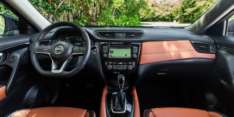 2017 Nissan X-Trail Interior