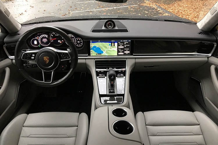 2017 Porsche Panamera Turbo Interior