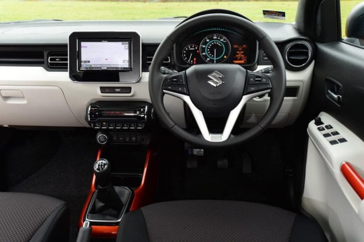 2017 Suzuki Ignis Interior