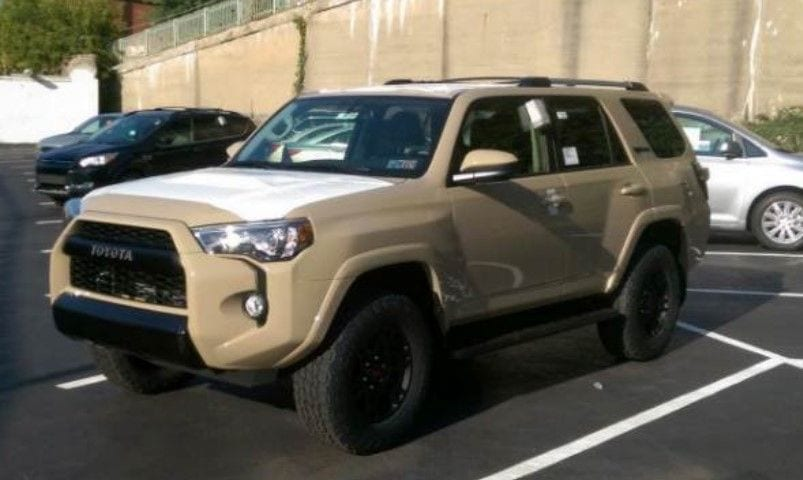 2017 toyota 4runner trd pro even more serious news price specs. Black Bedroom Furniture Sets. Home Design Ideas