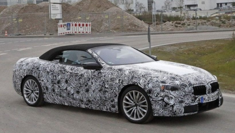 2018 bmw 6 series convertible spied price release date spy photos. Black Bedroom Furniture Sets. Home Design Ideas