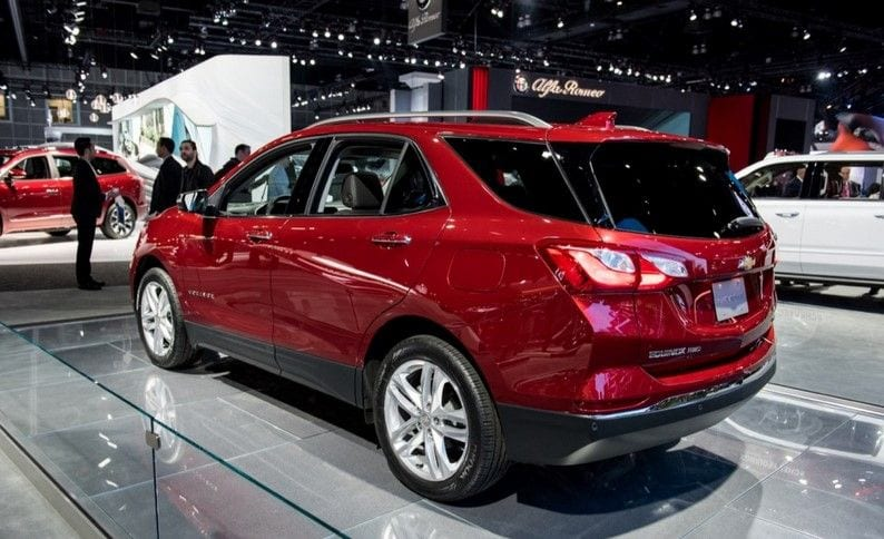 2018 chevrolet equinox price specs release date review suv. Black Bedroom Furniture Sets. Home Design Ideas