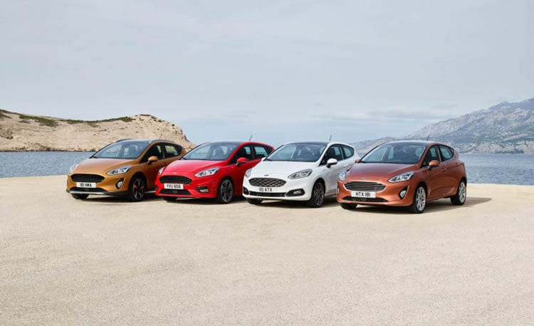 2018 Ford Fiesta models