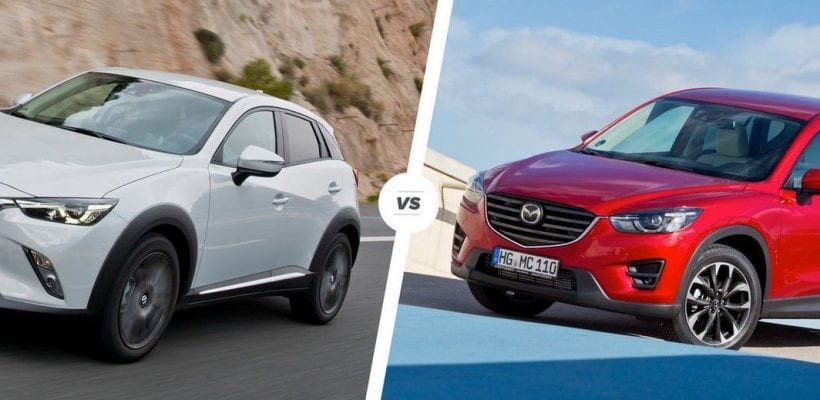 mazda cx 3 vs cx 5 bigger the better differences and review. Black Bedroom Furniture Sets. Home Design Ideas