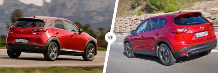 Mazda CX-3 vs CX-5