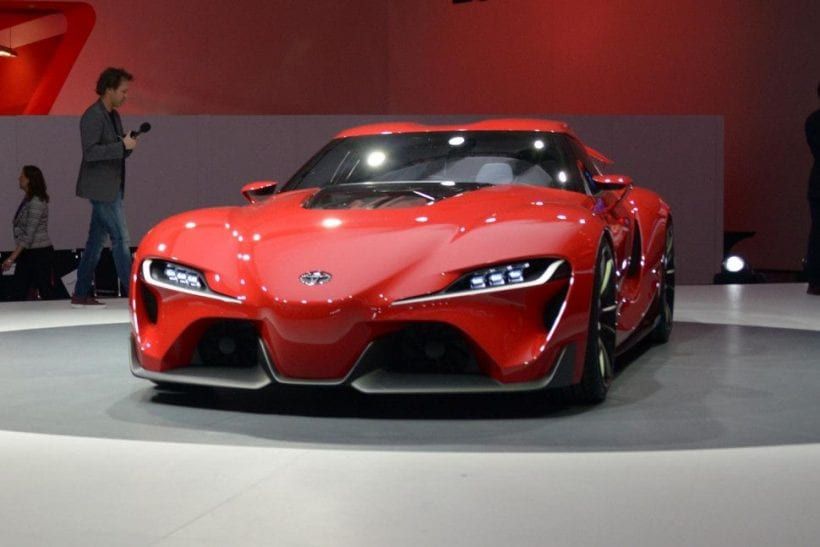 Toyota FT1 concept - Remembering with reason | Specs ...