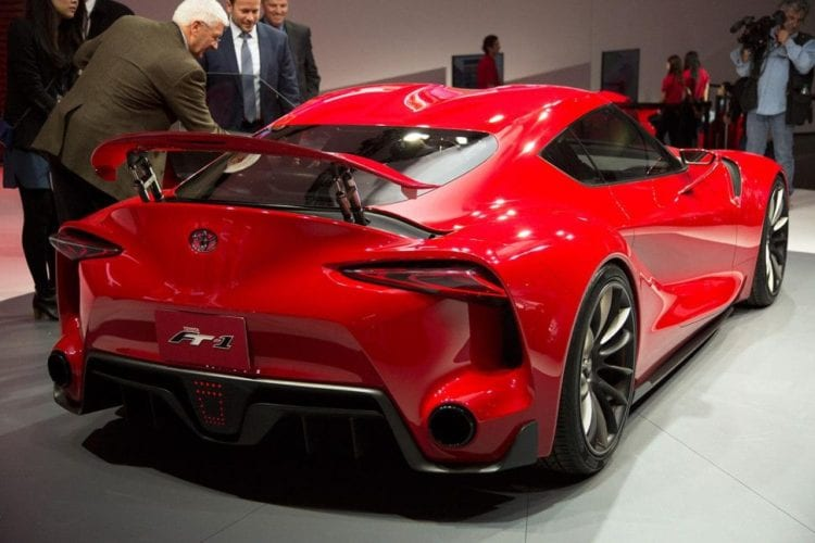 Toyota FT1 concept rear view
