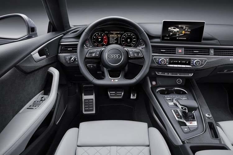 2017 Audi S5 Sportback interior