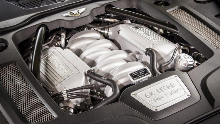 2017 Bentley Mulsanne engine