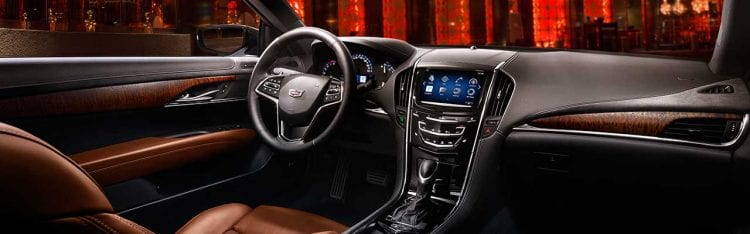 2017 Cadillac ATS Coupe interior