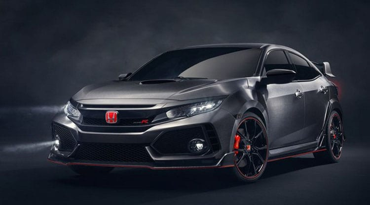 2017 honda civic type r black edition design specs for All black honda civic