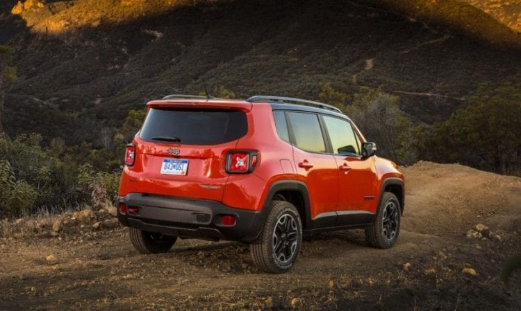 2017 Jeep Renegade rear view