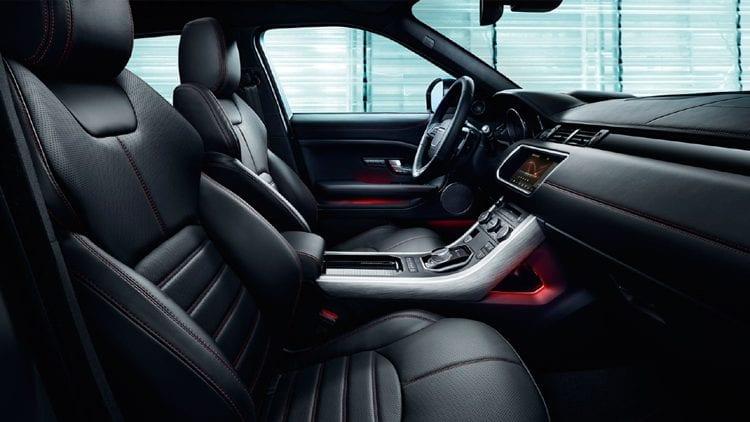 2017 Land Rover Range Rover Evoque Ember Edition interior