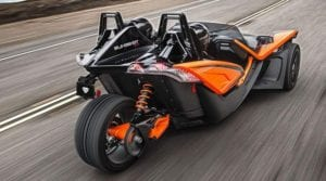 2017 POLARIS SLINGSHOT on road
