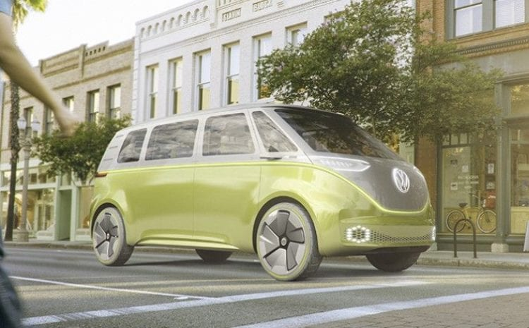 2017 VW I.D. BUZZ CONCEPT - 2017 Detroit Auto Show
