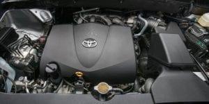 2017 toyota kluger engine