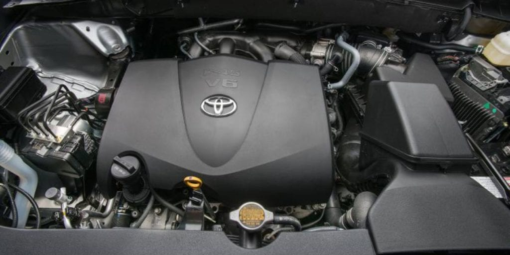 2017 toyota kluger engine
