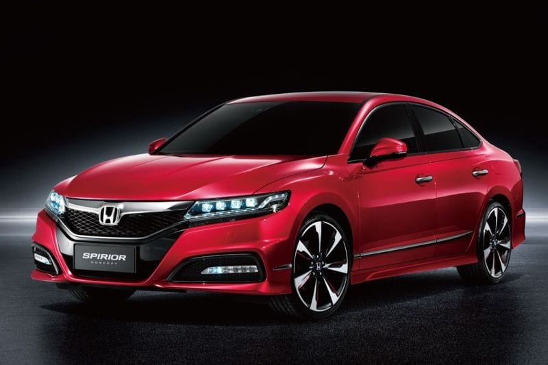 2018 Honda Accord Spirior Is What Honda Has in Store for China