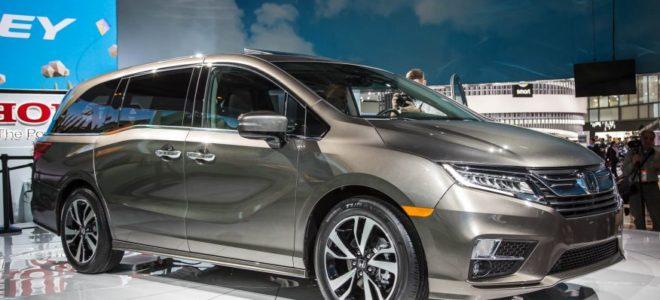 2018 honda odyssey redesign specs price honda detroit for Detroit auto show honda odyssey