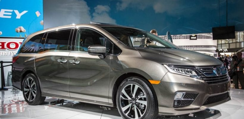 honda odyssey redesign specs price honda  detroit auto show