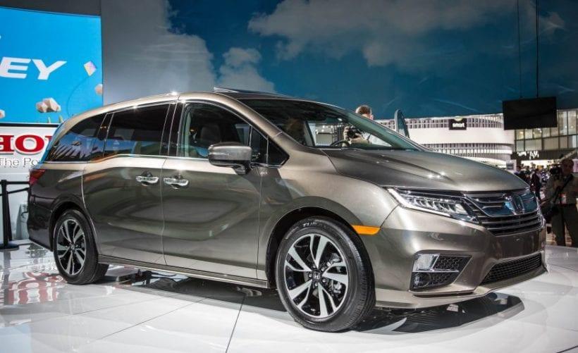 2018 Honda Odyssey Redesign Specs Price | Honda @ Detroit Auto Show ...