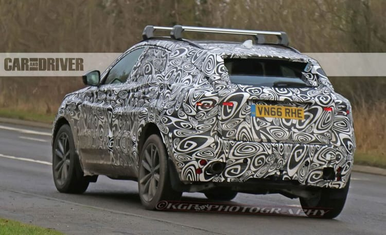 2018 Jaguar E-Pace Spy Shots - Baby Brother of F-Pace SUV