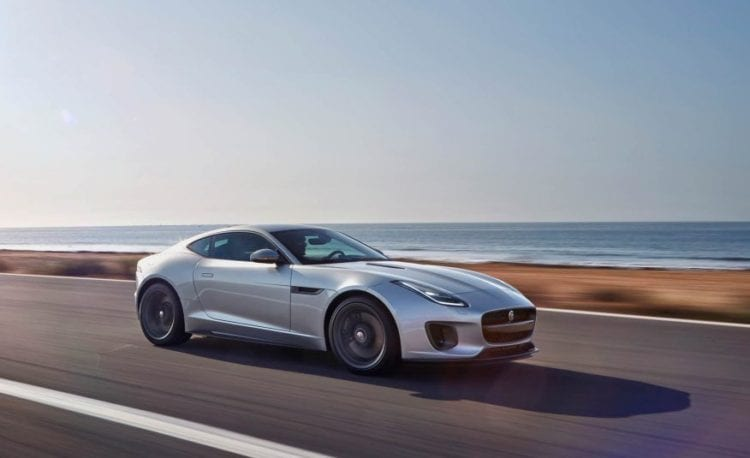 2018 Jaguar F-Type 400 Sport side view 2