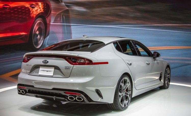 2018 Kia Stinger rear