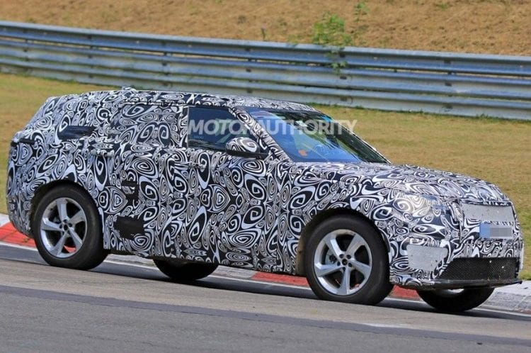 2018 Land Rover Range Rover Sport Coupe Sneak Peek side view