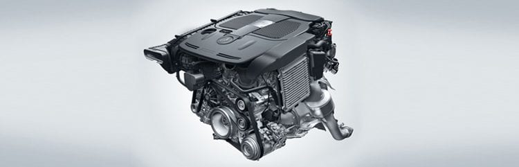 2018 Mercedes-Benz E-Class Cabriolet engine