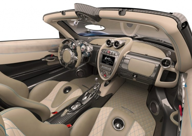 2018 Pagani Huayra Roadster Interior