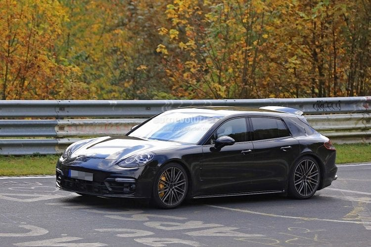 2018 Porsche Panamera Sport Turismo Wagon spy photo