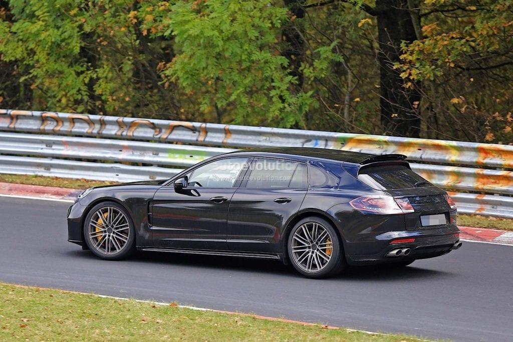 2018 Porsche Panamera Sport Turismo Wagon Why Stop Now Review News