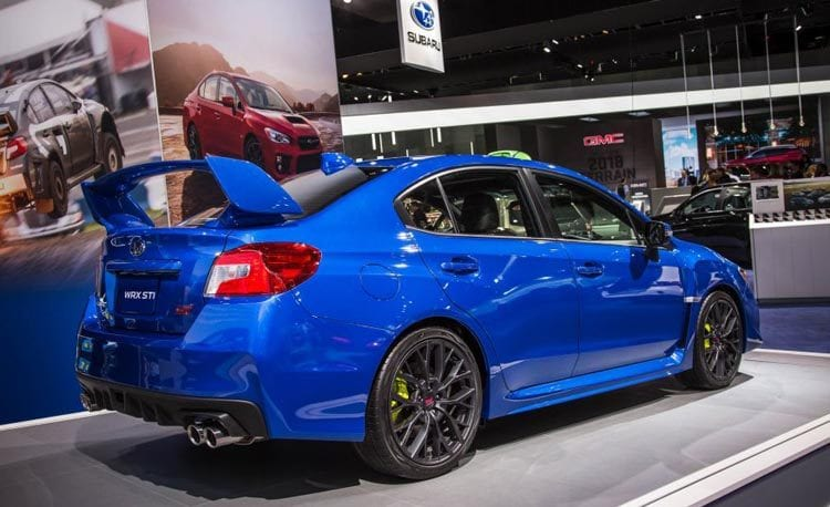 Subaru Sti Engine Design