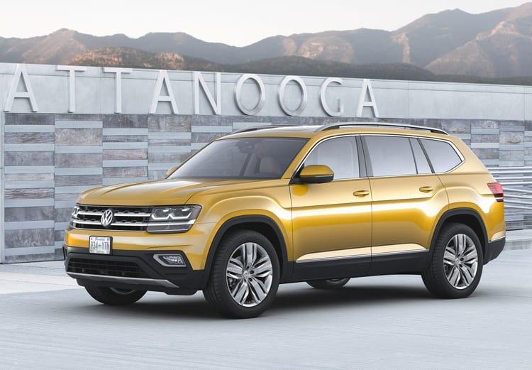 2018 vw atlas design price interior engine exterior for Atlas car aluminium