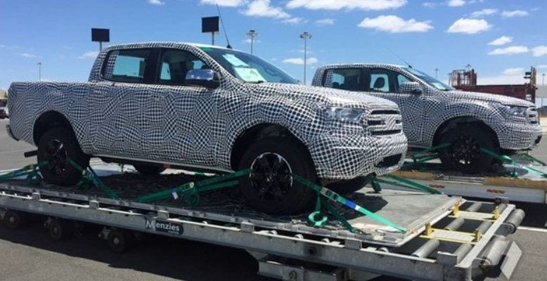 2019 Ford Ranger And 2020 Ford Bronco With Dana Axles