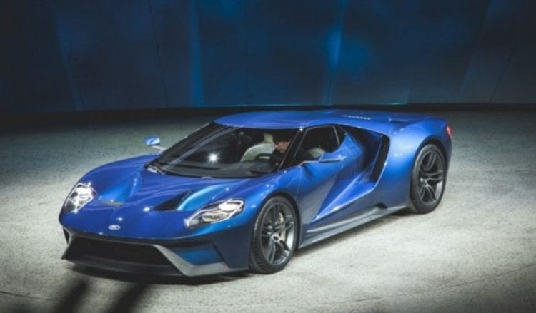 Top 5 Most Searched Cars In 2016 - Ford GT