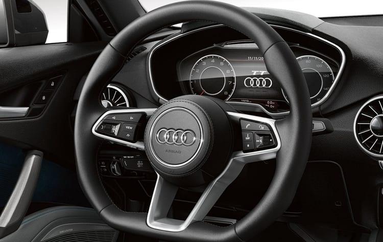 2017 Audi TT interior